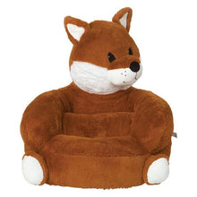 Load image into Gallery viewer, Fox Plush Character Chair