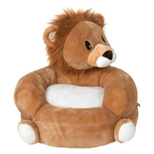 Load image into Gallery viewer, Lion Plush Character Chair