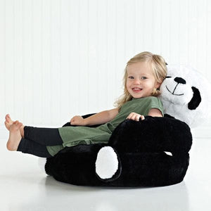 Panda Plush Character Chair