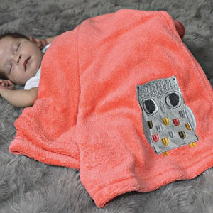 Plush Baby Blanket (Many Designs Available)