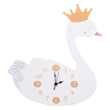 Load image into Gallery viewer, Swan Princess Wall Clock