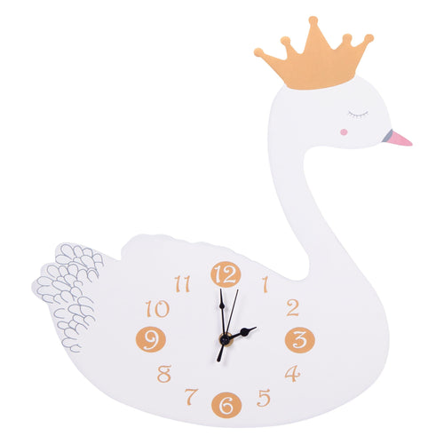Swan Princess Wall Clock