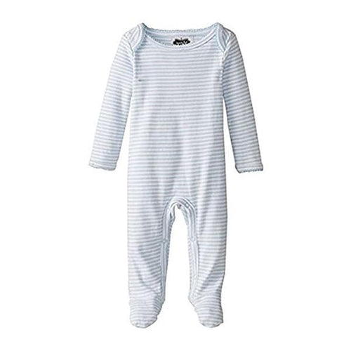 Monogram Me Blue Sleeper (0-6 Months) (Personalization Available)