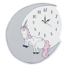 Load image into Gallery viewer, Unicorn Dreams Wall Clock