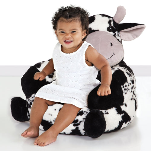 Cow Plush Character Chair