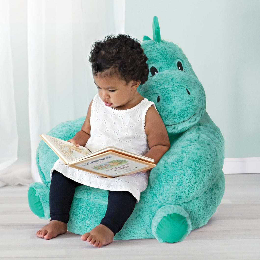 Dinosaur Plush Character Chair