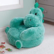 Load image into Gallery viewer, Dinosaur Plush Character Chair