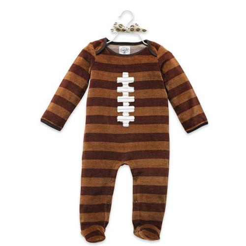 Velour Football One Piece