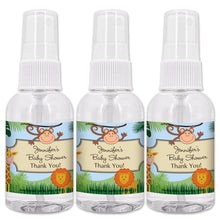 Load image into Gallery viewer, Personalized Baby Shower 2 oz. Hand Sanitizer Spray Bottle