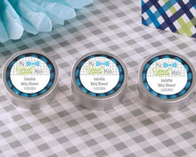 Load image into Gallery viewer, My Little Man Personalized Silver Round Candy Tin (Set of 12)