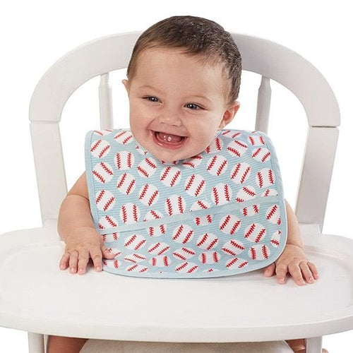 Wipe Away Baseball Bib
