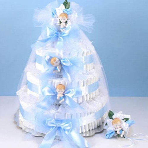 Diaper Cake Delight - Boy