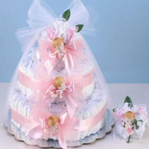 Diaper Cake Delight - Girl
