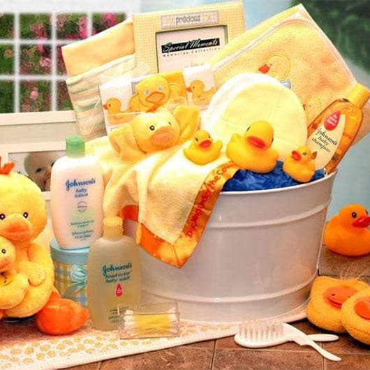 Splish Splash! Bath Time Baby Gift Basket - Large