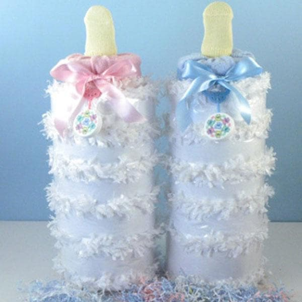 """Full Of Surprises"" Deluxe Baby Bottle Piñata (Available in Pink or Blue)"