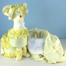 "Load image into Gallery viewer, ""Piñata Poodle"" Diaper Gift (Available in Pink, Blue or Yellow)"
