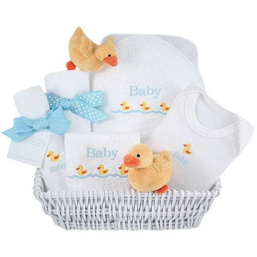 Just Ducky Personalized Layette Gift Basket