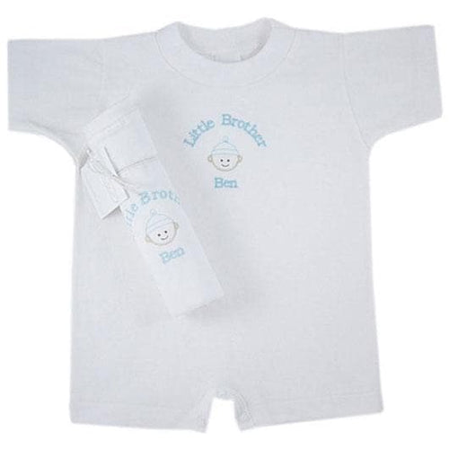 In My Shadow Personalized Little Brother Romper
