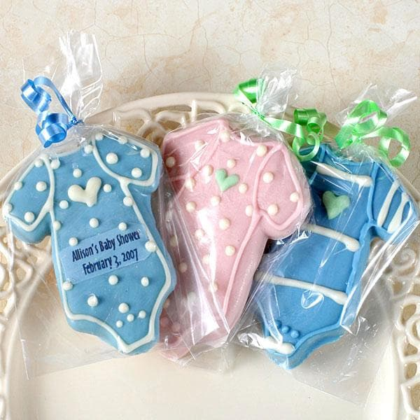 Personalized Baby Bodysuit Cookies