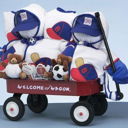 Twins Deluxe Welcome Wagon - Boy