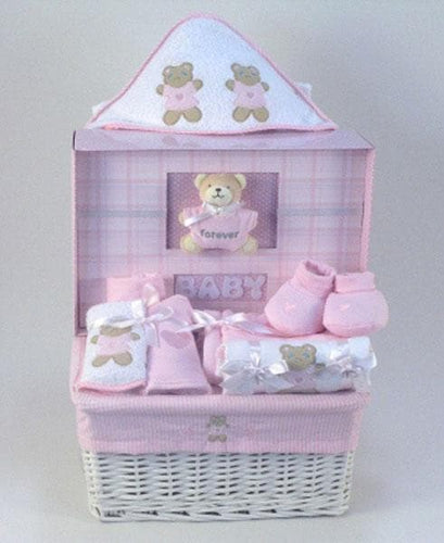 Forever Baby Book Gift Basket - Girl