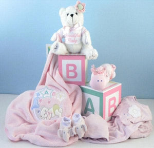 Home from the Hospital Baby Gift Set - Girl