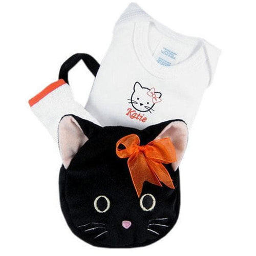 Halloween Tote for a Tot - Kitty