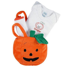 Load image into Gallery viewer, Halloween Tote for a Tot - Pumpkin