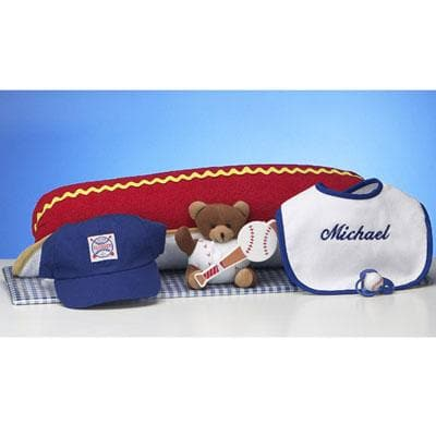 Personalized Hot Dog Ballpark Gift Set