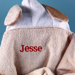 "Personalized ""Animal Adventures"" Hooded Towel"
