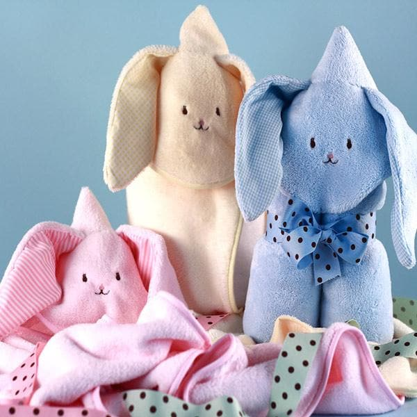 Soft and Friendly Hooded Baby Blanket