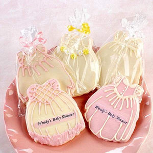 Personalized Baby Dress Cookies