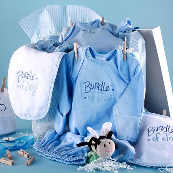 Baby Shower Clothesline (Blue)