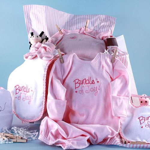 Baby Shower Clothesline (Pink)