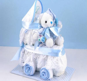 Baby Diaper Carriage - Boy