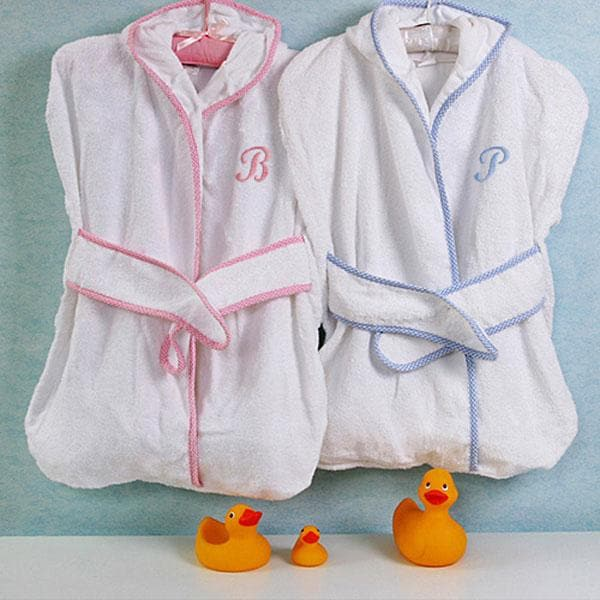 Precious Bundle - Terrycloth Bath Kimono (Personalization Available)