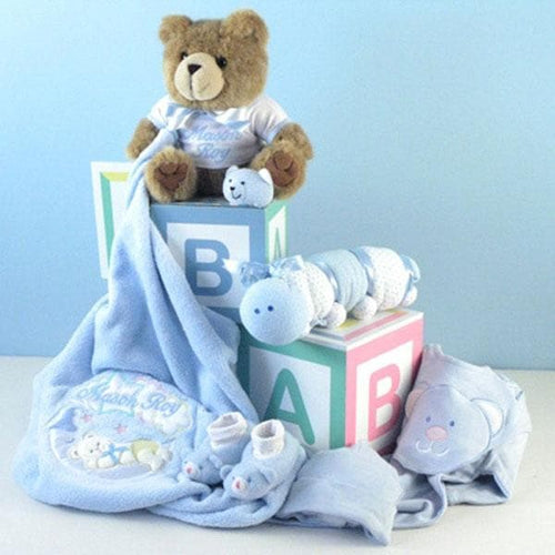 Home from the Hospital Baby Gift Set - Boy