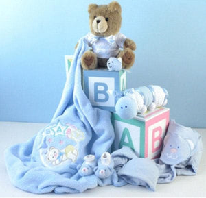"Personalized ""Home from the Hospital"" Gift Set - Boy"