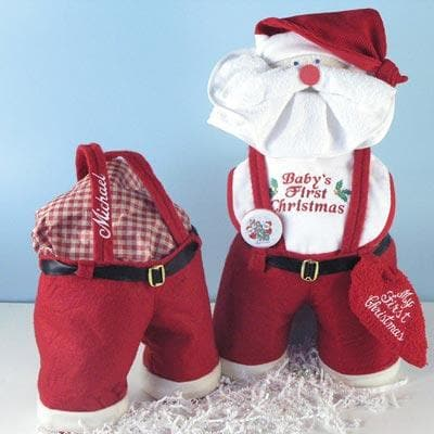 Santa Panta Baby's First Christmas Gift Set