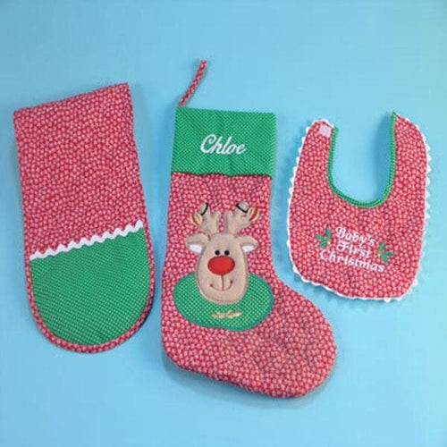 Christmas Stocking Set