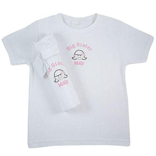 Me Too Big Sister Sibling Tee Shirts