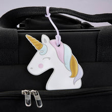 Load image into Gallery viewer, Unicorn Luggage Tag