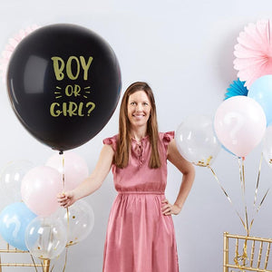 Jumbo Gender Reveal 12 Piece Balloon Set