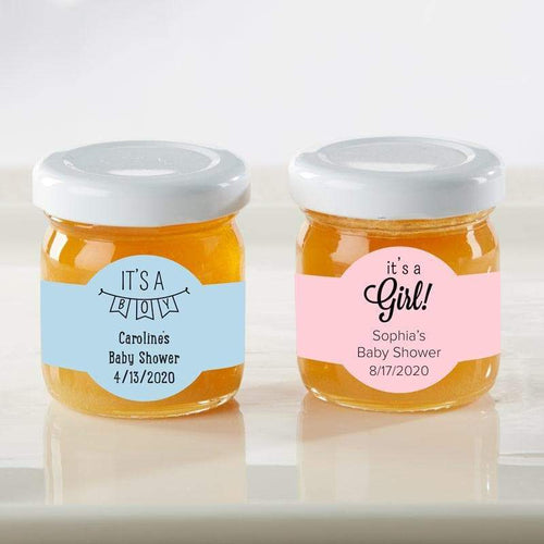 Personalized Baby Shower Honey Jar (Set of 12)