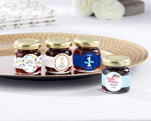 Personalized Birthday Strawberry Jam (Set of 12)