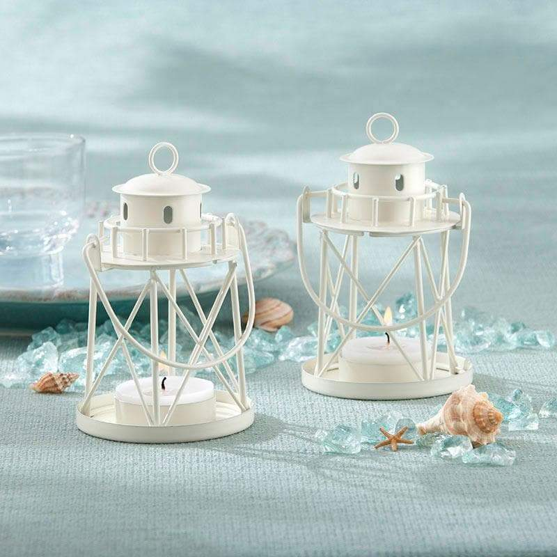 By the Sea Lighthouse Tea Light/Place Card Holder