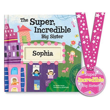 Load image into Gallery viewer, Super, Incredible Big Sister Personalized Storybook