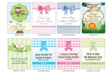 Load image into Gallery viewer, Personalized Baby Cosmopolitan Favors (Many Designs Available)