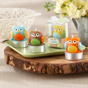 Whooo's the Cutest Baby Owl Candle - Assorted (Set of 4)