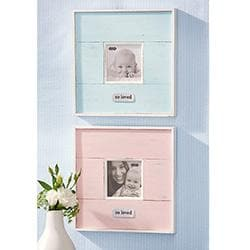 So Loved Distressed Frame (Available in Pink & Blue)